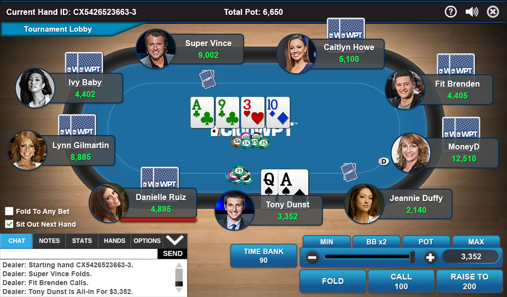 ClubWPT game image.