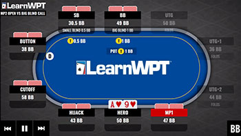 Poker strategy. Learn how to play poker like a pro. In Position Against a Tough Big Blind.