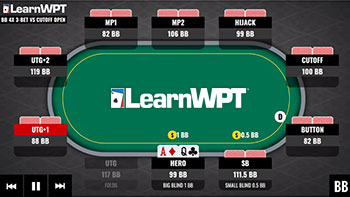 Poker strategy. Learn how to play poker like a pro. 3-Betting from the Big Blind.